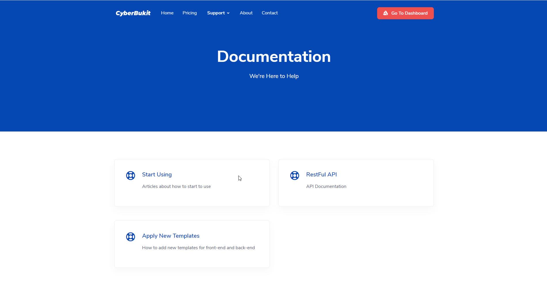 Front-End Documentation